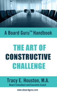The Art of Constructive Challenge