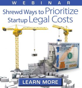 startup legal costs