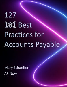 127 Best Practices for Accounts Payable
